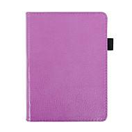 preiswerte Tablet Zubehör-Hülle Für Ganzkörper-Gehäuse Tablet-Hüllen Volltonfarbe Hart PU-Leder für