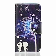 Назначение Чехлы панели Бумажник для карт Кошелек со стендом Чехол Кейс для одуванчик Твердый Искусственная кожа для Samsung J5 (2016) J5