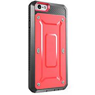 Назначение iPhone X iPhone 8 iPhone 7 iPhone 7 Plus iPhone 6 Чехлы панели Вода / Грязь / Надежная защита от повреждений Чехол Кейс для