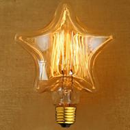 Χαμηλού Κόστους -edison κίτρινο φως διακόσμηση ρετρό λάμπα βολφραμίου πηγή φωτός (e27 40w)