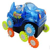 إضاءةLED لعبة سيارات ألعاب سيارة بلاستيك قطع هدية