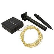 お買い得  -JIAWEN 10m ストリングライト 100 LED SMD 0603 温白色 / RGB / ホワイト 防水 / # / IP65