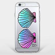 Для С узором Кейс для Задняя крышка Кейс для Плитка Мягкий TPU AppleiPhone 7 Plus / iPhone 7 / iPhone 6s Plus/6 Plus / iPhone 6s/6 /