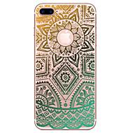Назначение iPhone X iPhone 8 iPhone 7 iPhone 6 Кейс для iPhone 5 Чехлы панели Прозрачный Рельефный С узором Задняя крышка Кейс для
