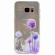 Samsung galaxy s7 reuna s7 eforcase dandelion maalaus tpu puhelimen kotelo samsung galaxy s7 s5 s5 mini