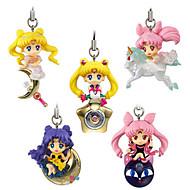 billige Cosplay og kostumer-Anime Actionfigurer Inspireret af Sailor Moon Princess Serenity PVC 5 CM Model Legetøj Dukke Legetøj
