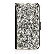 Etui Käyttötarkoitus Samsung Galaxy Samsung Galaxy kotelo Korttikotelo Tuella Flip Kokonaan peittävä Kimmeltävä PU-nahka varten J5 Grand