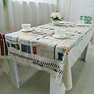 Neliö Patchwork Table Cloths , 100% puuvillaa materiaali Hotel ruokapöytä Taulukko Dceoration
