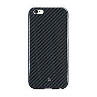 billiga CORNMI®-För Stötsäker fodral Skal fodral Enfärgat Hårt Kolfiber för Apple iPhone 6s Plus/6 Plus iPhone 6s/6