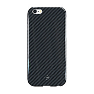 abordables CORNMI®-Para Antigolpes Funda Cubierta Trasera Funda Un Color Dura Fibra de Carbono para Apple iPhone 6s Plus/6 Plus iPhone 6s/6