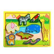 Εκπαιδευτικό παιχνίδι Παζλ Παιχνίδια Ελέφαντας Ταύρος Άλογο Lizard Κροκοδιλέ Νεωτερισμός Αγορίστικα Κοριτσίστικα 8 Κομμάτια
