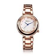povoljno -REBIRTH Dame ' Modni sat Ručni satovi s mehanizmom za navijanje Casual sat Kvarc Vodootpornost Legura Grupa Neformalno Srebro ZlatnaZlato