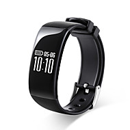 cheap -Smart Bracelet Smartwatch for iOS / Android Heart Rate Monitor / Calories Burned / Long Standby / Touch Screen / Pedometers Activity Tracker / Sleep Tracker / Sedentary Reminder / Alarm Clock / 64MB