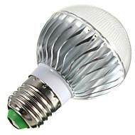 E14 B22 E26/E27 LED-bollampen B 3 leds Krachtige LED Dimbaar Op afstand bedienbaar Decoratief RGB 400lm 2800-6500K AC 85-265V