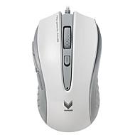 rapoo ratón v300c juego 4 Modo ajustable 4000 dpi programable 8 botones de respiración luz pc ordenador portátil