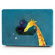 お買い得  MacBook 用ケース/バッグ/スリーブ-MacBook ケース / ラップトップケース 動物 プラスチック のために MacBook Air 13インチ / MacBook Pro 13インチ / MacBook Air 11インチ