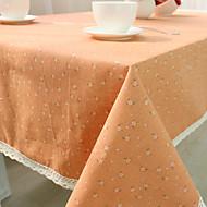 abordables Textiles para el Hogar-Mezcla de Algodón Cuadrado Forros de Mesa Inodoro Ecológica Decoraciones de mesa