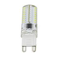 3w g9 koristeluvalo t 64led smd 3014 250-350lm lm lämmin valkoinen / viileä valkoinen himmennettävä ac110v / 220 v 1 kpl