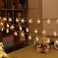 hó villognak lámpák fesztivál karácsonyfa 20 lámpa 3meter