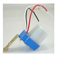 interruptor de luz ao ar livre controle de luz 220v interruptor do sensor