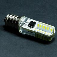 お買い得  LED コーン型電球-2700-3500/6000-6500 lm E12 LEDコーン型電球 T 48 LEDの SMD 3014 装飾用 温白色 クールホワイト AC 110〜130V