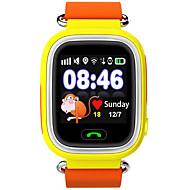 voordelige Slimme activiteitentrackers, clips & polsbandjes-Kinderen Sporthorloge Slim horloge Modieus horloge Polshorloge DigitaalLED Aanraakscherm Afstandsbediening Thermometers Kalender