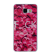 halpa Galaxy A8 kotelot / kuoret-Etui Käyttötarkoitus Samsung Galaxy A5(2016) A3(2016) Kuvio Takakuori Kukka Pehmeä TPU varten A8(2016) A5(2016) A3(2016) A8 A7 A5 A3