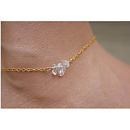 Women's Crystal Anklet - Luxury, European Jewelry Silver / Golden For Daily Casual