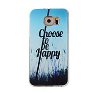 billige Galaxy S4 Etuier-Etui Til Samsung Galaxy S7 edge S7 Mønster Bagcover Landskab Blødt TPU for S7 edge S7 S6 edge S6 S5 S4
