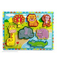 Εκπαιδευτικό παιχνίδι Παζλ Παιχνίδια Ελέφαντας Ταύρος Άλογο Νεωτερισμός Αγορίστικα Κοριτσίστικα 8 Κομμάτια