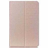 halpa Galaxy Tab A 9.7 kotelot / kuoret-Varten Tuella / AutomAutomaattinen auki/kiinni / Ultraohut Etui Kokonaan peittävä Etui Yksivärinen Kova Tekonahka varten SamsungTab S2