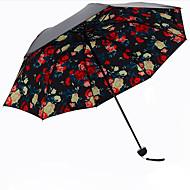 레드 접는 우산 양산 Plastic 유모차