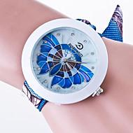 billige -Dame Armbåndsur Quartz Sort / Hvid / Blåt Afslappet Ur / Analog Damer Afslappet Mode - Grøn Blå Lys pink