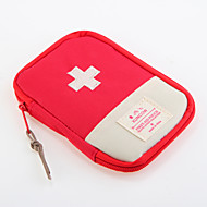 Oxford ruházat Utazótáska Gyógyszeres doboz/tok utazáshoz Vízálló Hordozható Porbiztos Tárolási készlet Tartozékok sürgősségi esetekre