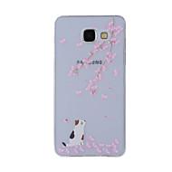 tok Για Samsung Galaxy A5(2016) A3(2016) Με σχέδια Πίσω Κάλυμμα Γάτα Μαλακή TPU για A8(2016) A5(2016) A3(2016) A8 A7 A5 A3