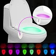 お買い得  -BRELONG® 1枚 トイレライト 自動タイプ 防水 ウルトラバイオレットライト 変色