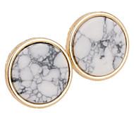 billige -Stangøreringe Legering Cirkelformet Geometrisk form Smykker For Fest Daglig Afslappet 1 par