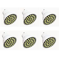 gu10 led spotlámpa g50 32led smd 5733 480lm-500lm meleg fehér hideg fehér dekoratív ac110 ac220v