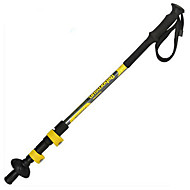 cheap -3 Sections Walking Poles Trekking Poles Nordic Walking Poles 135cm (53 Inches) Fastness Collapsible Durable Aluminum Carbon Fiber Aluminum Alloy Hiking Backcountry Walking