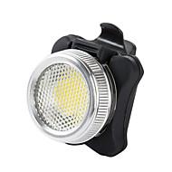 Sykkellykter Baklys til sykkel LED - Sykling Vandtæt Oppladbar Nødsituasjon alarm Lithium Batteri 50 Lumens Batteri USBRød Kald Hvit