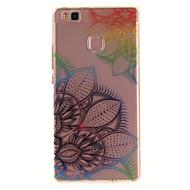 Для huawei p9 lite p8 lite tpu материал imd процесс мечта цветок модель телефон дело для y6ii наслаждаться 5 честь 8