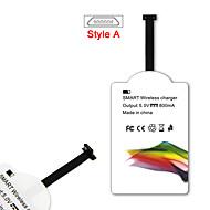 mindzo Qi Standard 5V1A Stil-ein drahtloses Ladegerät Empfänger für alle Android-Micro-USB-Stil-Smartphone