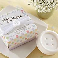 tanie Gadżety do łazienki-mydło prezenty wakacyjne mini przycisk kształt (losowy kolor)