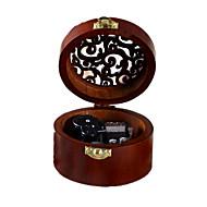Music Box Zabawki Okrągły Gramofon Słodkie Specjalne Kreatywne Sztuk Dla chłopców Dla dziewczynek Walentynki Dzień Dziecka Bal maskowy