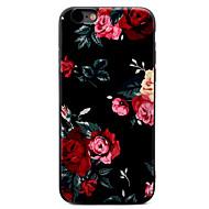 Za iPhone X iPhone 8 iPhone 7 iPhone 7 Plus iPhone 6 Torbice kućišta Uzorak Kućište Θήκη Cvijet Mekano TPU za Apple iPhone X iPhone 8