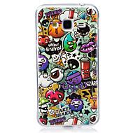 voordelige Galaxy J7(2016) Hoesjes / covers-hoesje Voor Samsung Galaxy J7 (2016) J5 (2016) Glow in the dark IMD Patroon Achterkantje Cartoon Zacht TPU voor J7 (2016) J7 J5 (2016) J5