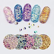 abordables -1 pcs Paillettes Manucure Manucure pédicure Quotidien Glitters / Mode