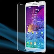 [3 шт] профессиональный высокая прозрачность ЖК кристально чистый протектор с салфеткой для Samsung Galaxy Note 4 экрана