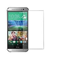 お買い得  スクリーンプロテクター-スクリーンプロテクター HTC のために HTC One M8 強化ガラス 1枚 ハイディフィニション(HD)