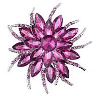 billige -kvinders lilla legering brocher smykker 1pc